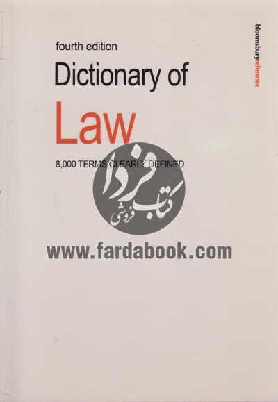 Fourth Edition Dictionary of Law