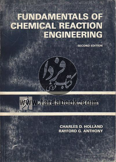 Fundamental of Chemical Reaction Engineering