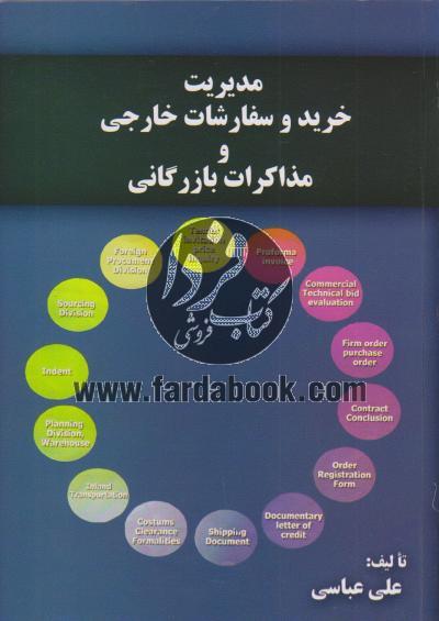 مدیریت خرید و سفارشات خارجی و مذاکرات بازرگانی