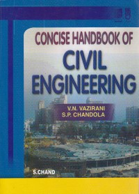 هندبوک عمران /Concise Handbook Of Civil Engineering