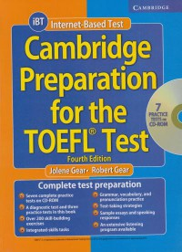 CAMBRIDGE PREPARATION FOR THE TOEFLE TEST