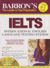 BARRONS IELTS : INTERNATIONAL LANGUAGE TESTING SYSTEM