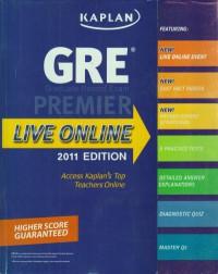 همراه با سی دی KAPLAN GRE exam:PREMIER LIVE ONLINE 2011