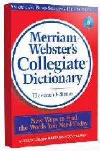 Merriam Webster\'s Collegiate Dictionary
