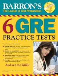 6GRE Practice Tests