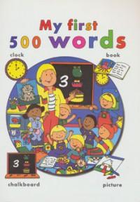 اولین 500 کلمه من