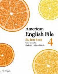 American English file Student & Workbook 4 (CD)