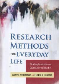 اصول و روش تحقیق برای زندگی روزمره / Research Methods for Everyday Life