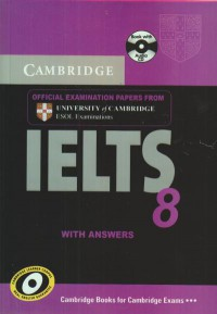 IELTS 8 - CAMBRIDGE - همراه با سی دی