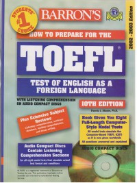 TOEFL BARRONS EDITION