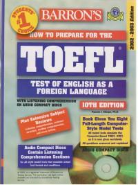 TOEFL BARRONS EDITION