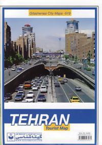 نقشه تهران کد 519
